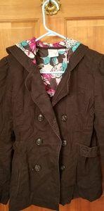 Roxy thick jacket with hood